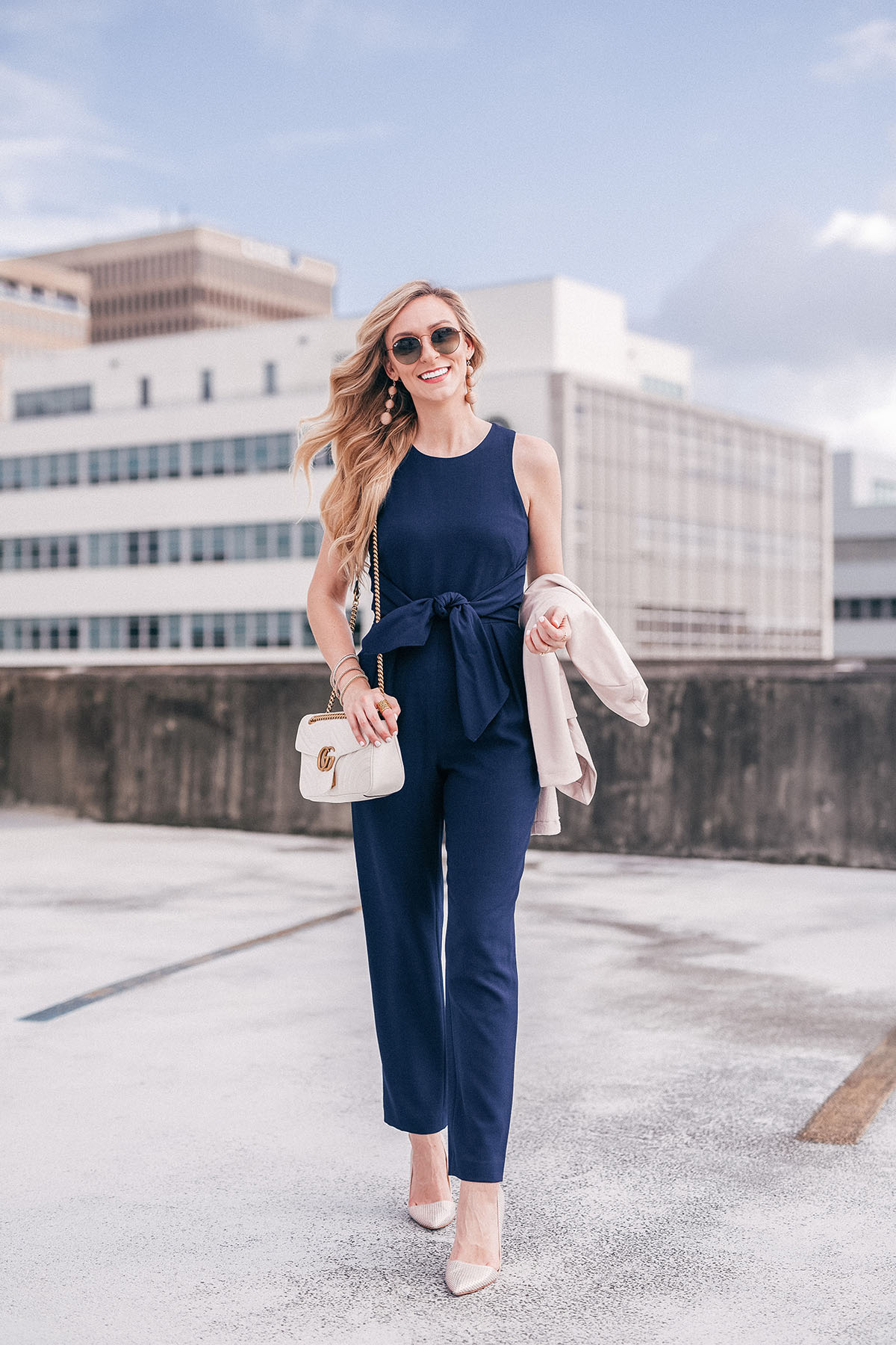 Classic Navy Pantsuit | Why Every Girl Needs A Classic Pantsuit In Her Closet