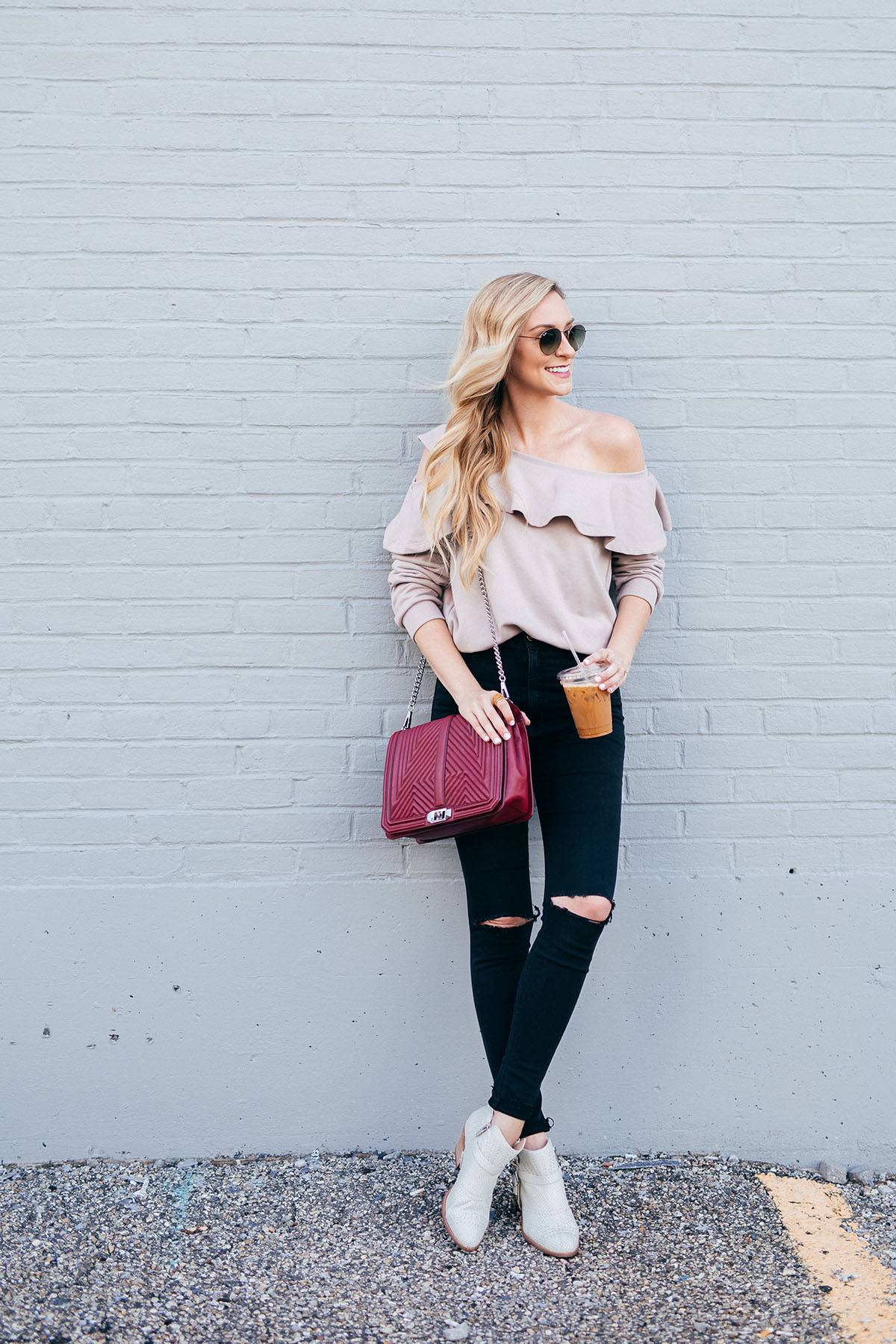 Ruffle Off the Shoulder Sweater | Nordstrom Sweaters Under $50