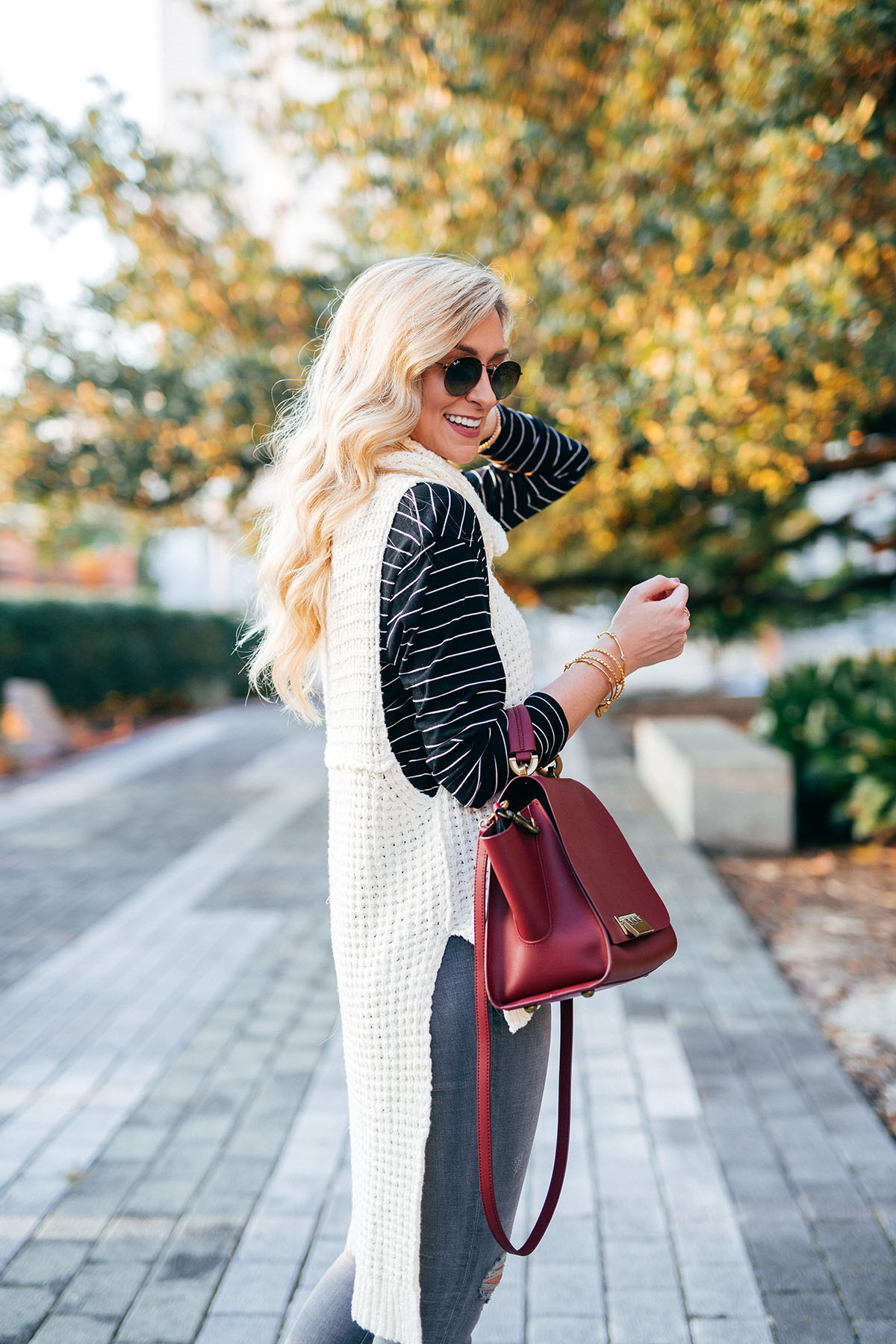 Cowl Neck Sleeveless Sweater | Free People | Fall Outfit Ideas
