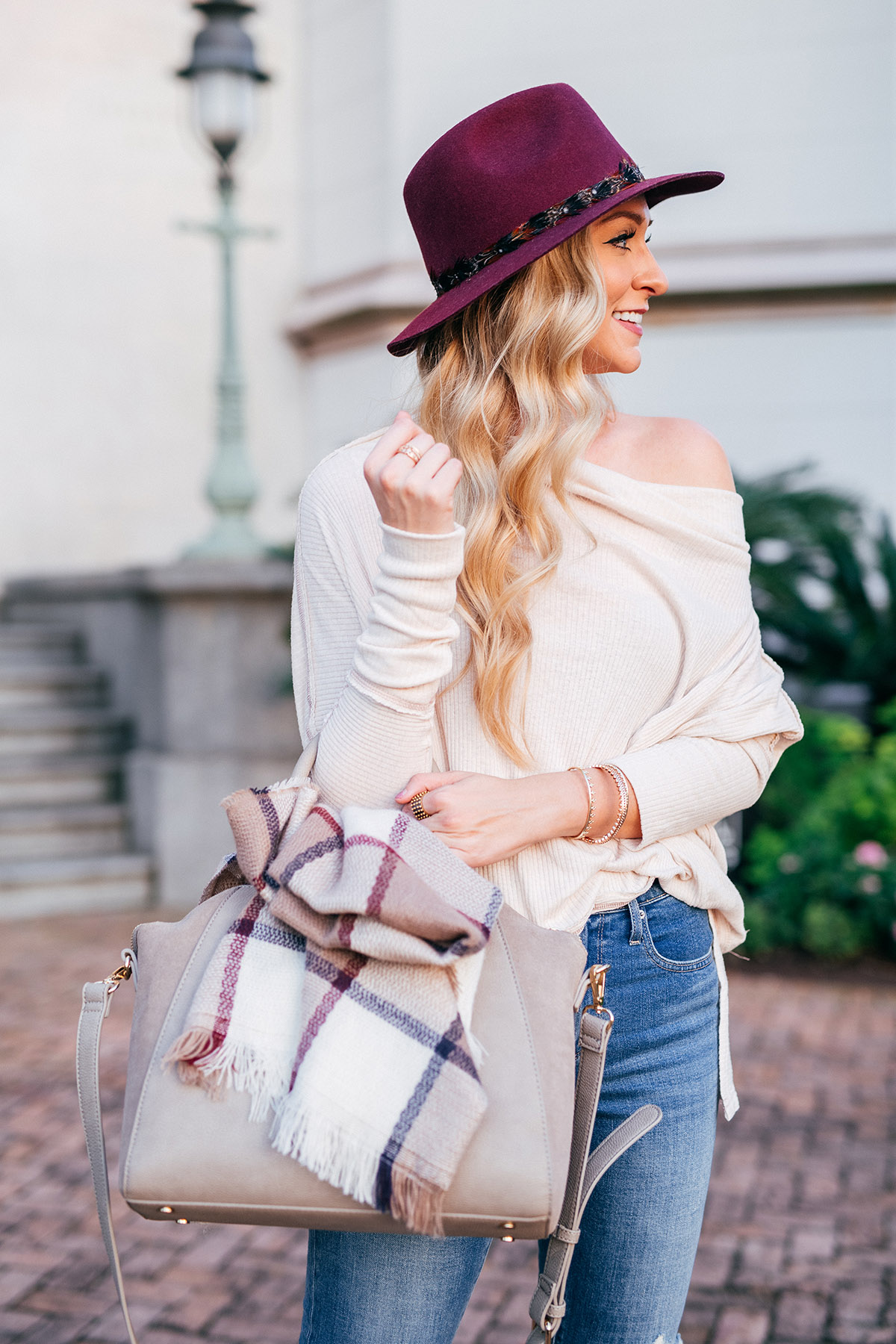 Flat Suede Ankle Boots | Born Casco Boots | Off the shoulder Free People Top