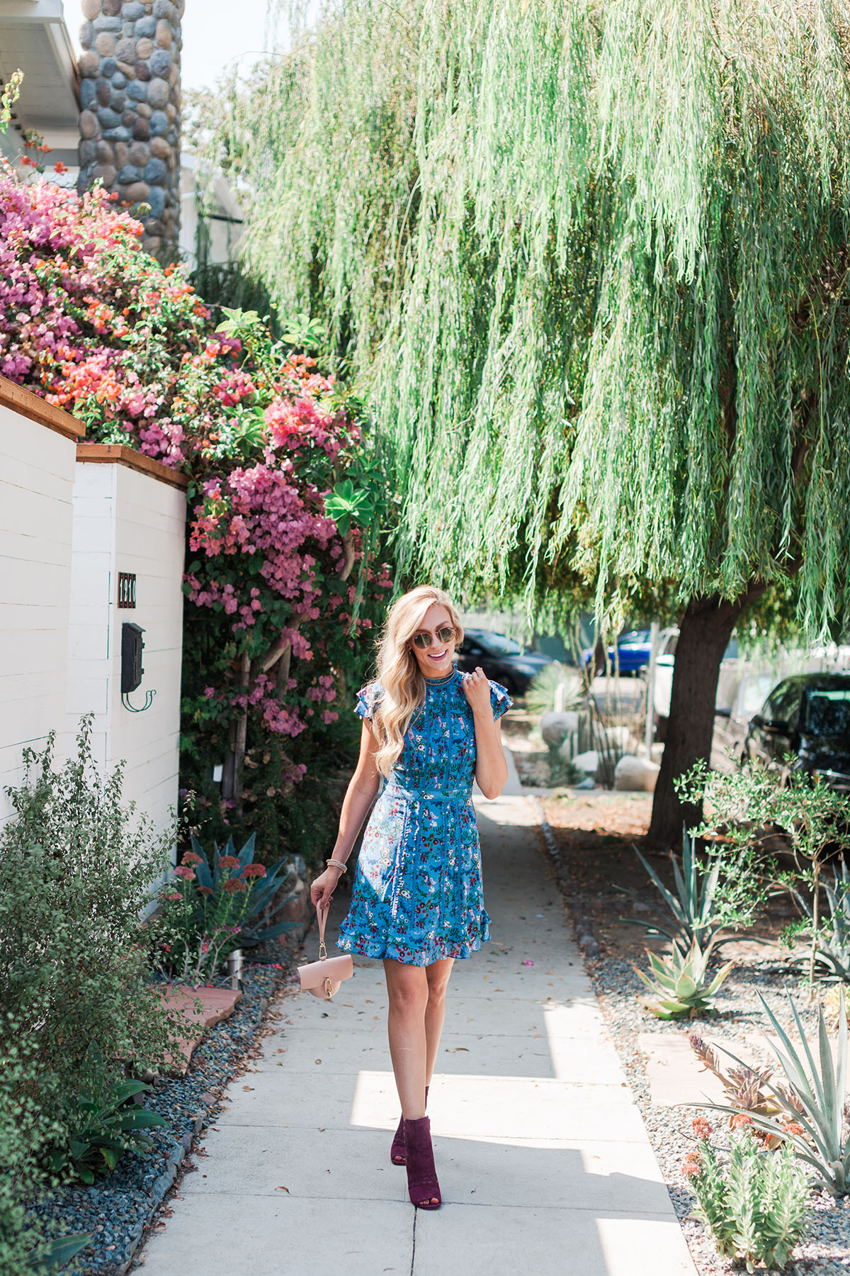 Fall Cocktail Dress | Fall Outfit Ideas | Alice & Olivia Saks Friends and Family Sale