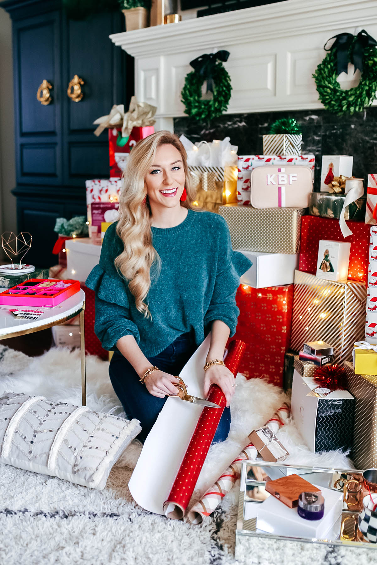 Sharing My Favorite Family Holiday Traditions | Hallmark Wrapping Paper | Holiday Decorating Ideas | Holiday Wrapping and Gift Ideas