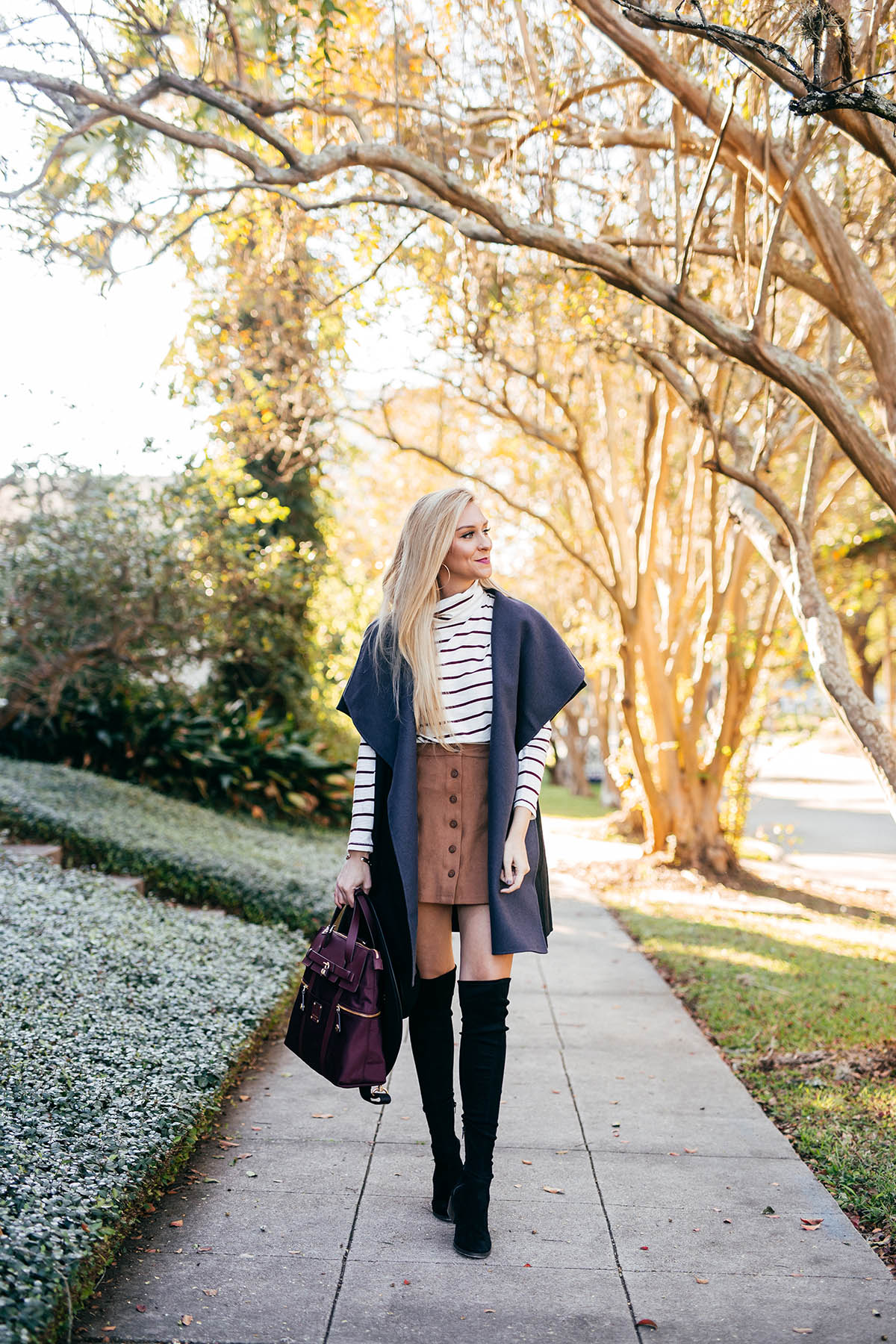 Easy Outerwear Options | Henri Bendel Reversible Vest