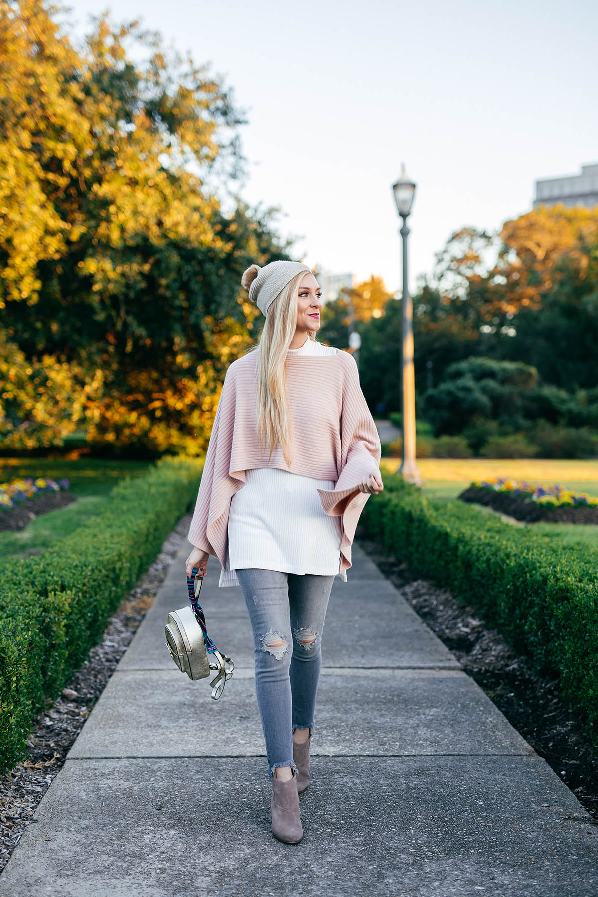 Easy Outerwear Options | Henri Bendel Cashmere Cape Poncho