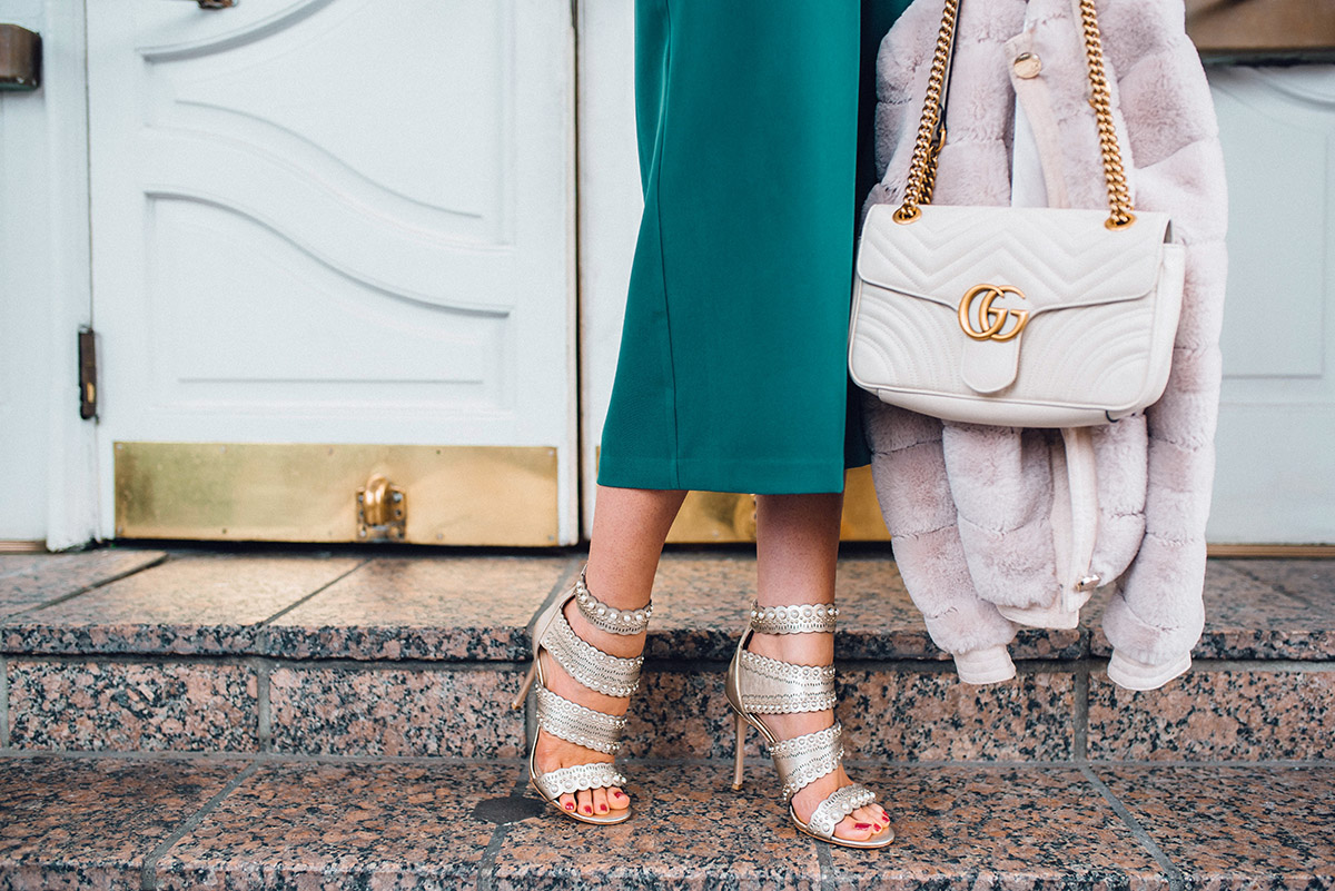 NYE Outfit Ideas | New Years Eve Pearl Heels