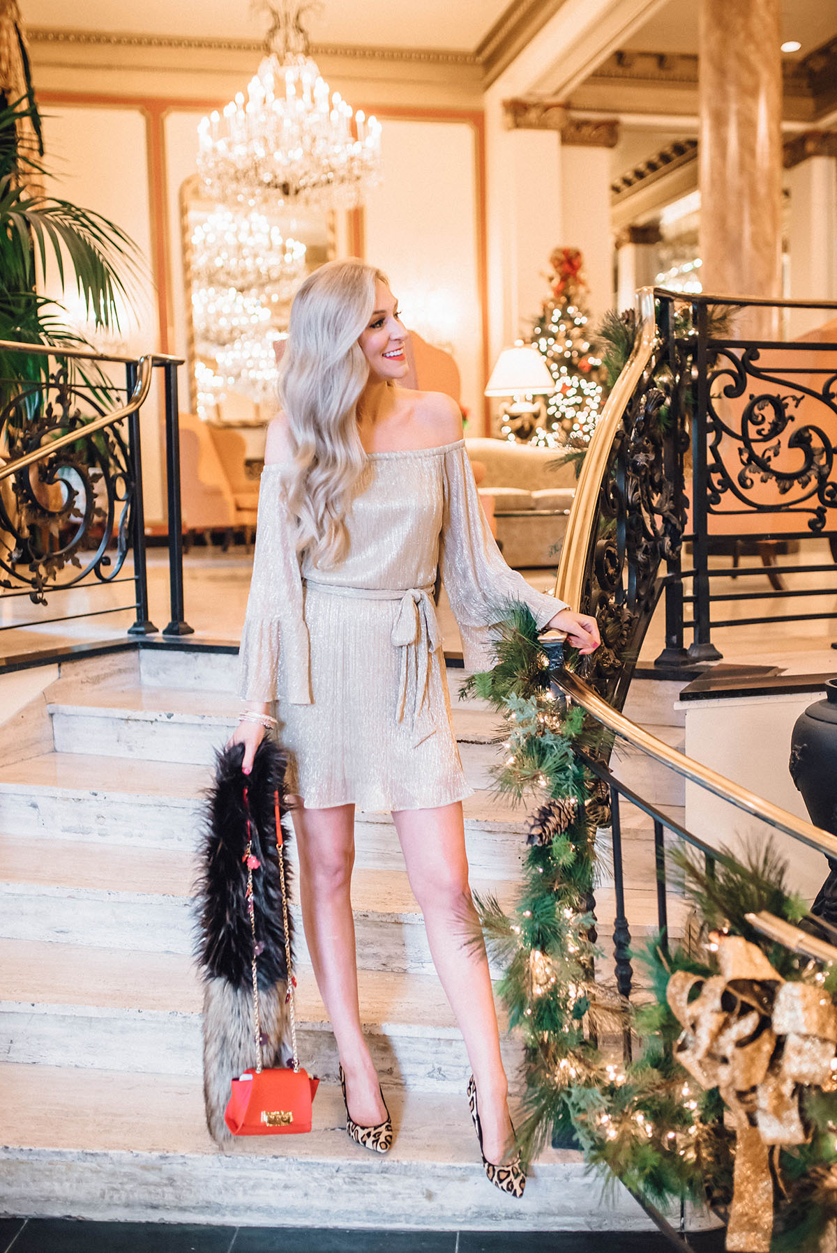 NYE Outfit Ideas | New Years Eve Dress | Gold Dress