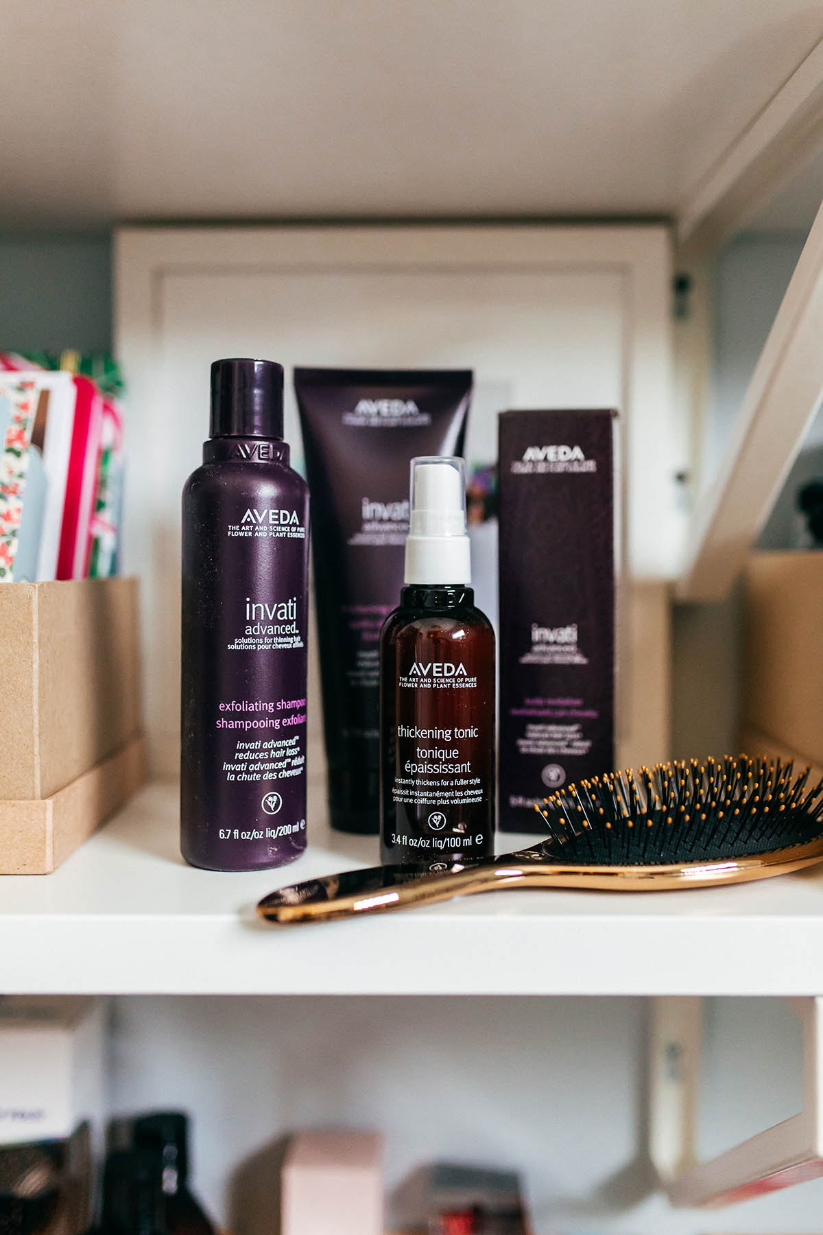 Aveda Invati Thickening Hair Products