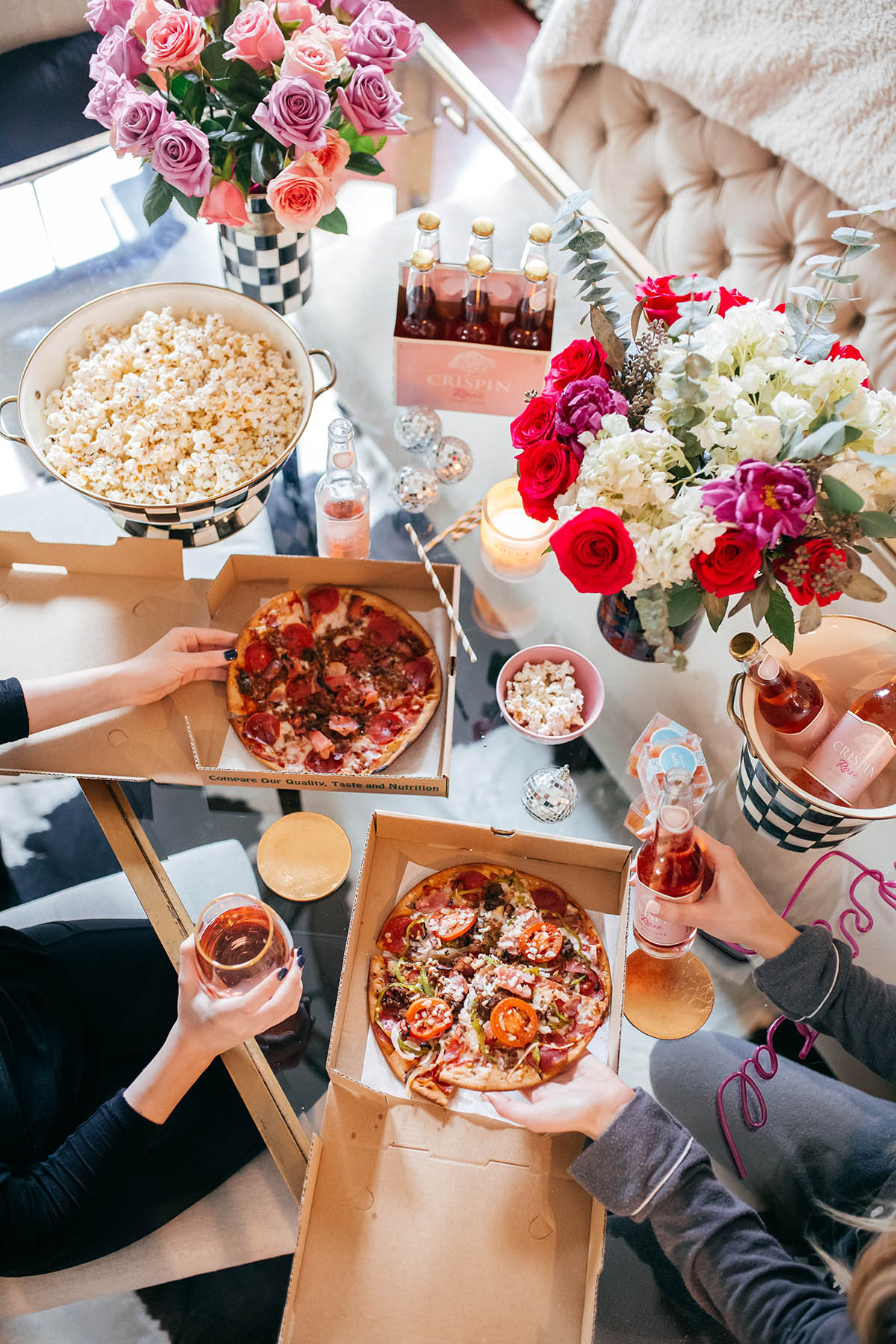 Galentine's Day Pizza Party | Galentine's Day Ideas