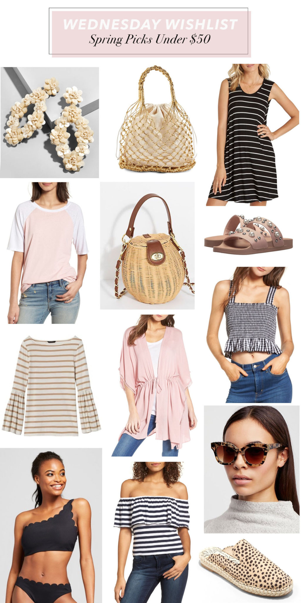Spring Styles Under $50 | Budget-Friendly Spring Styles