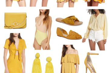 Spring Color Report | Hello Yellow