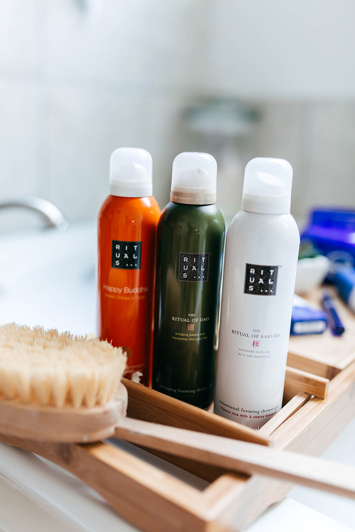 Cool Beauty Products You Haven't Tried Yet   Rituals Shower Foam