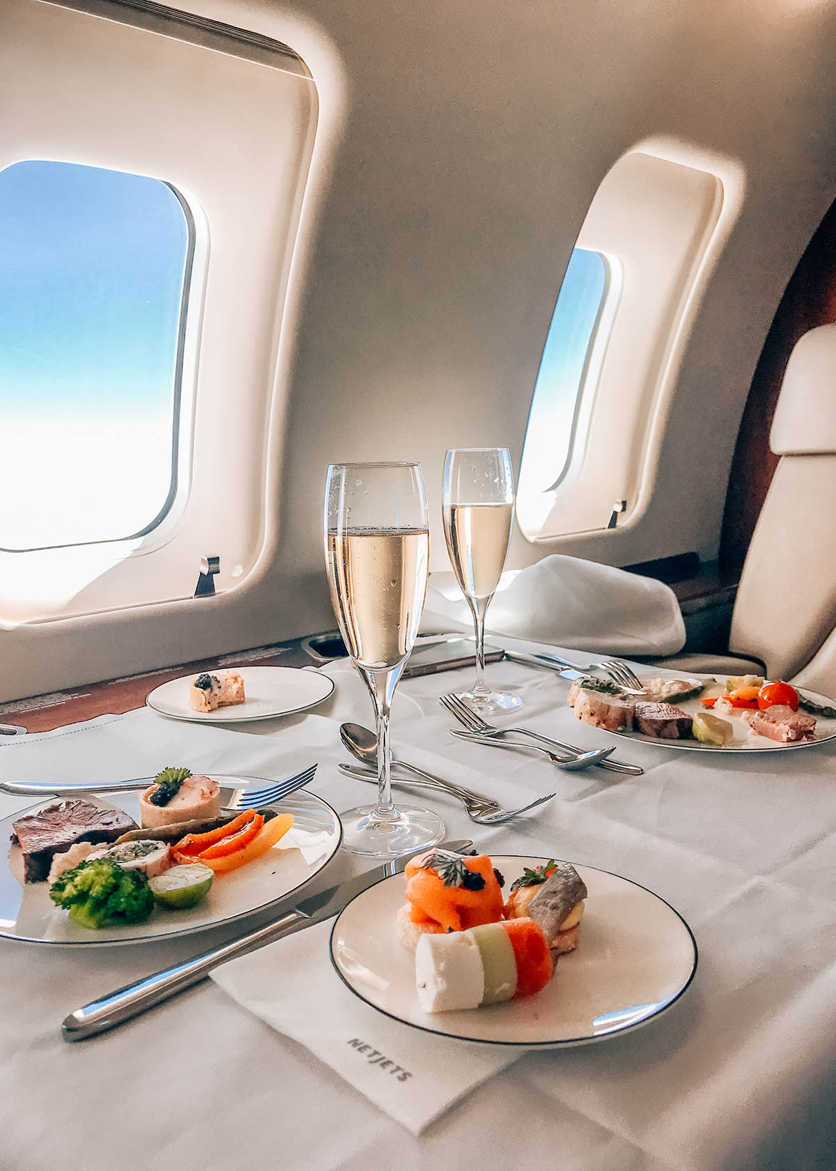 NetJets Private Jet Experience x Four Seasons Palm Beach