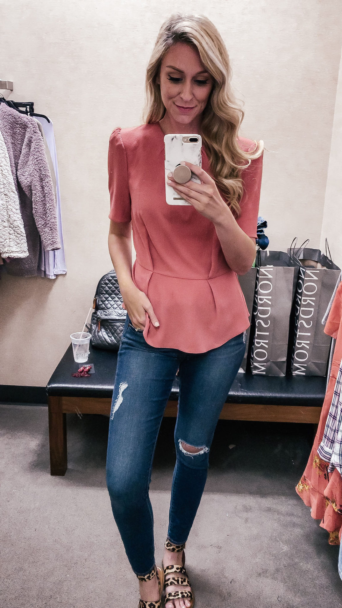 2018 Nordstrom Anniversary Sale Outfit | Dressing Room Try-On Session