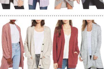 Nordstrom Sale Round-Up | Best Cardigans + Best Jeans