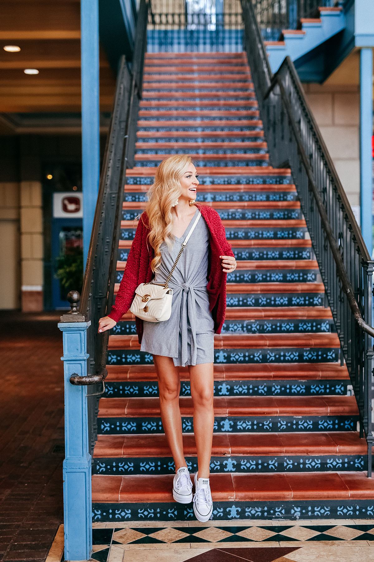 How to Promote Your Blog + Tie-Waist Dress | Fall Shopping List