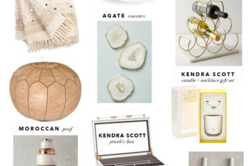 Holiday Gift Guide | Holiday Home Decor Gift Ideas