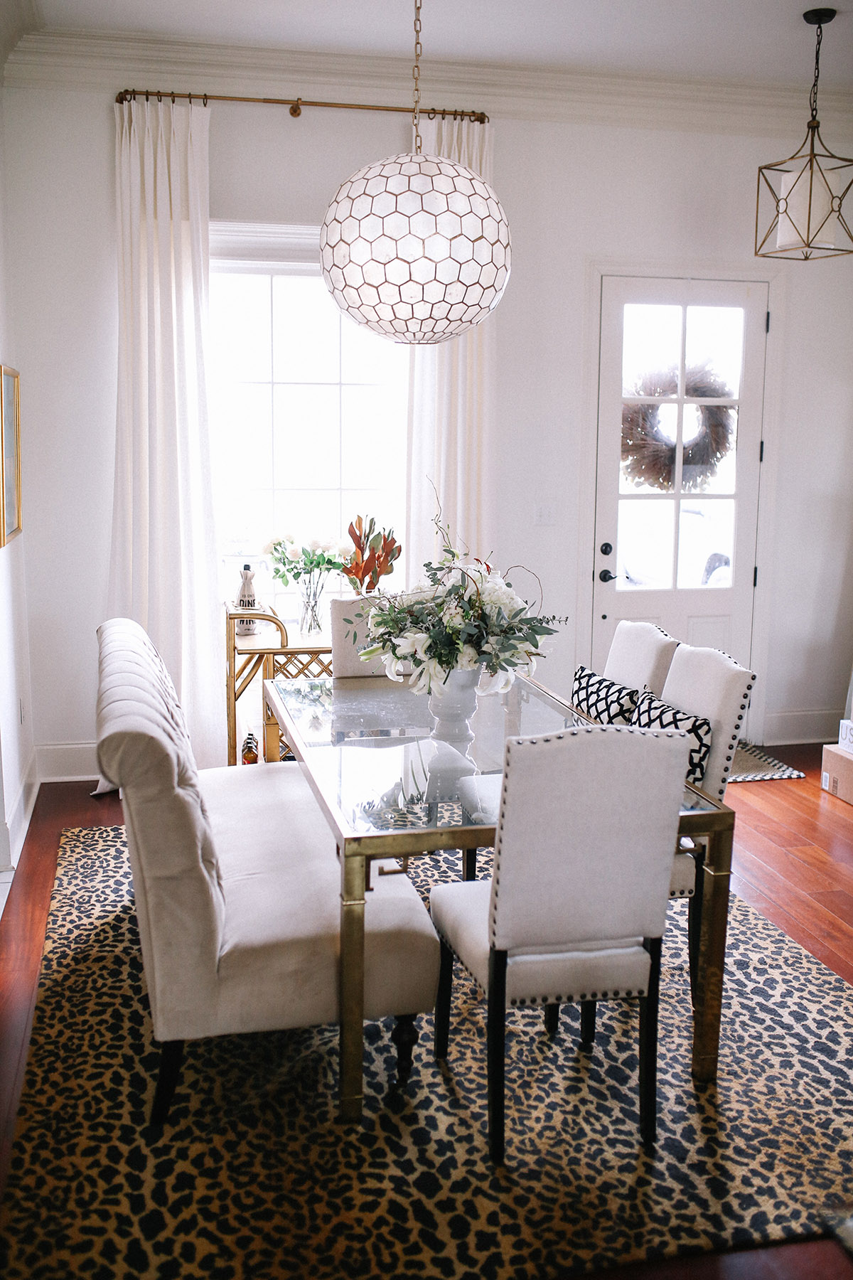 Living and Dining Room Before and After | How to Work with an Interior Designer