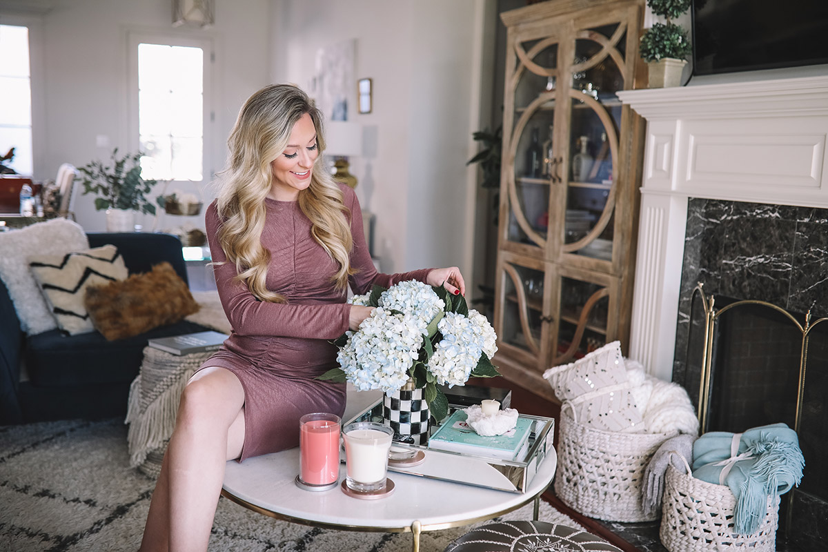 January Home Decor | Tips for Transitioning From Holiday Decor to Cozy Winter Decor