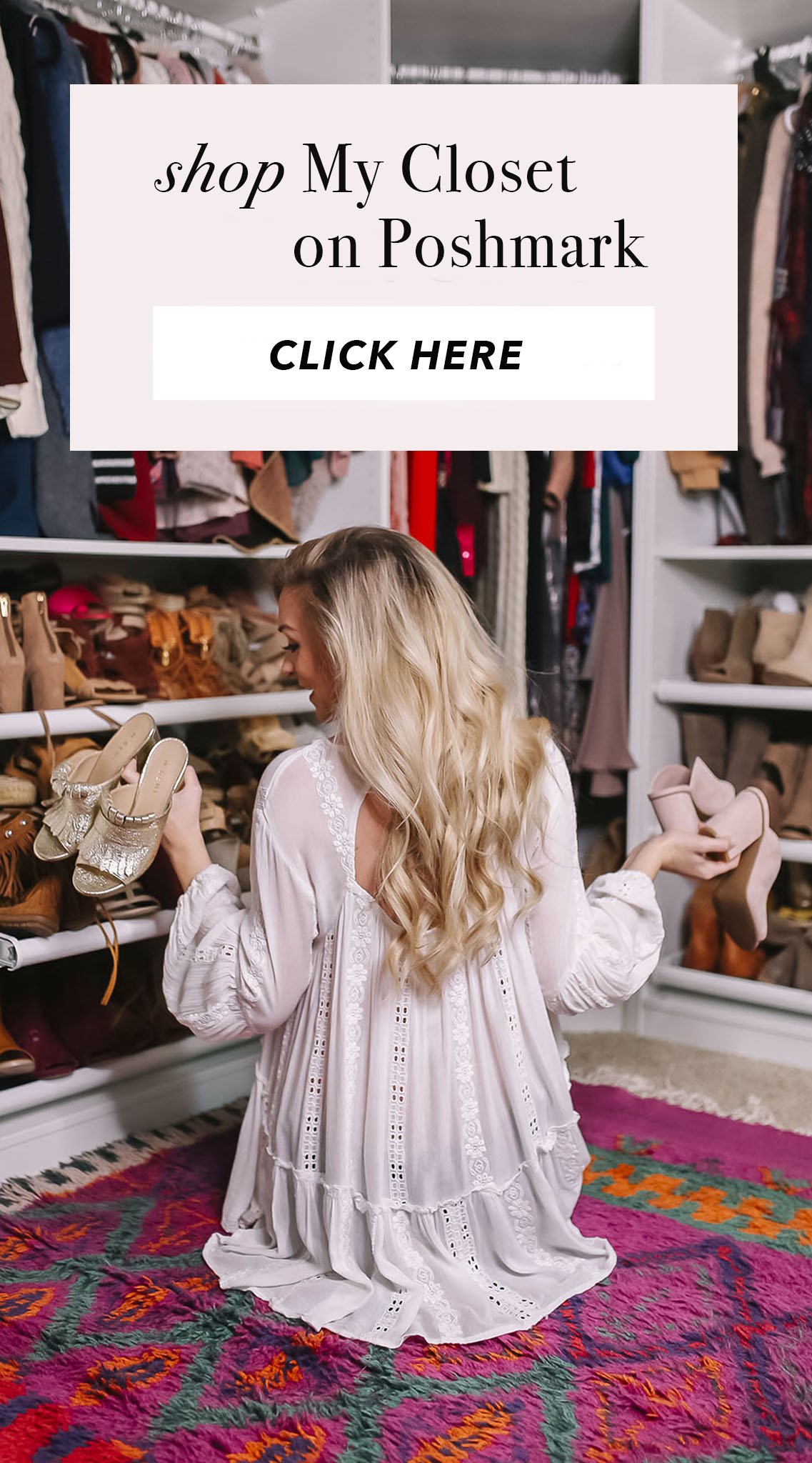 Blogger Closet Sale on Poshmark