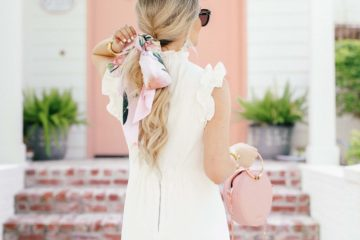 Little White Dress for Summer | Ted Baker White Ruffle Dress