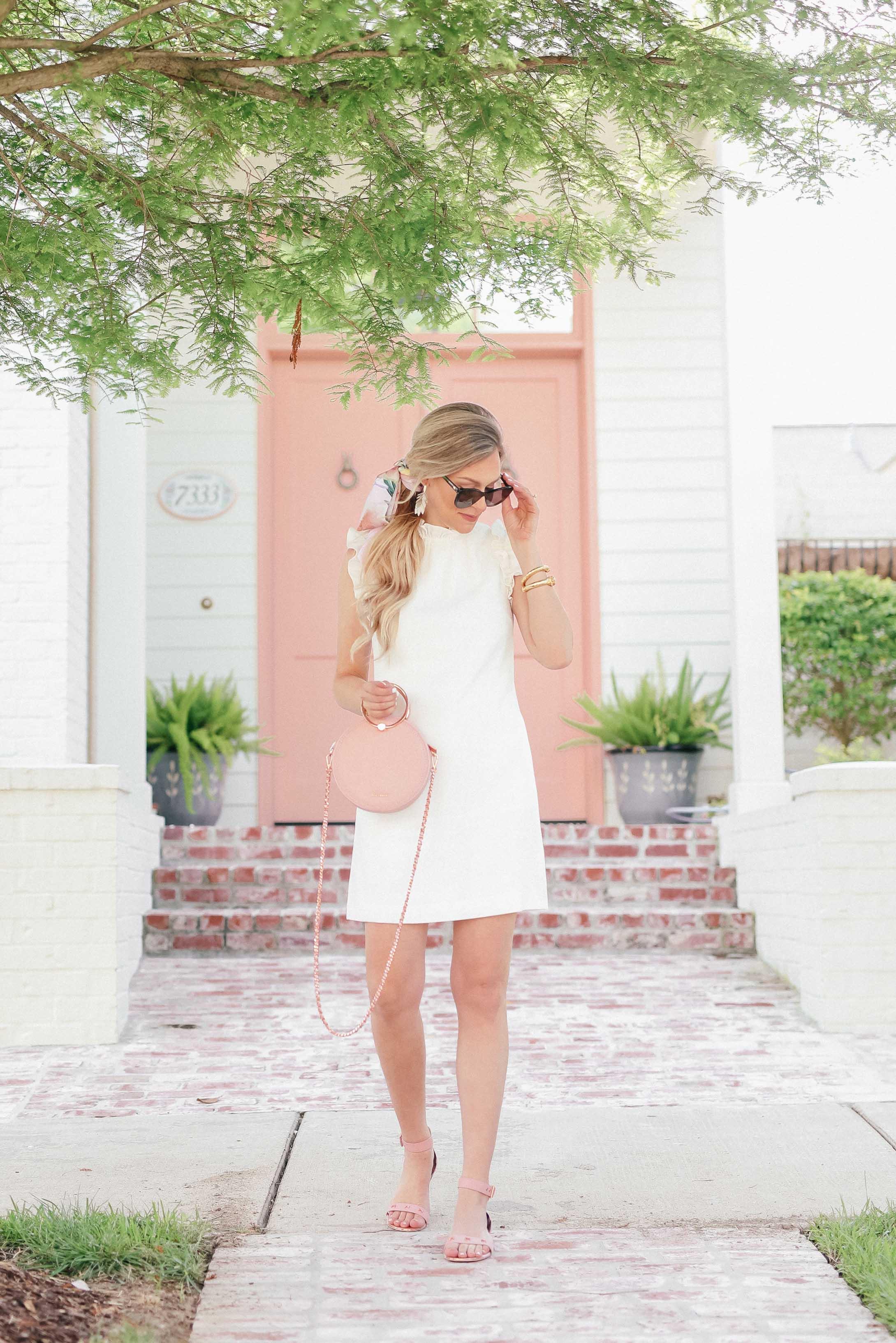 d9bdd52f2dc5 ... Little White Dress for Summer | Ted Baker White Ruffle Dress ...