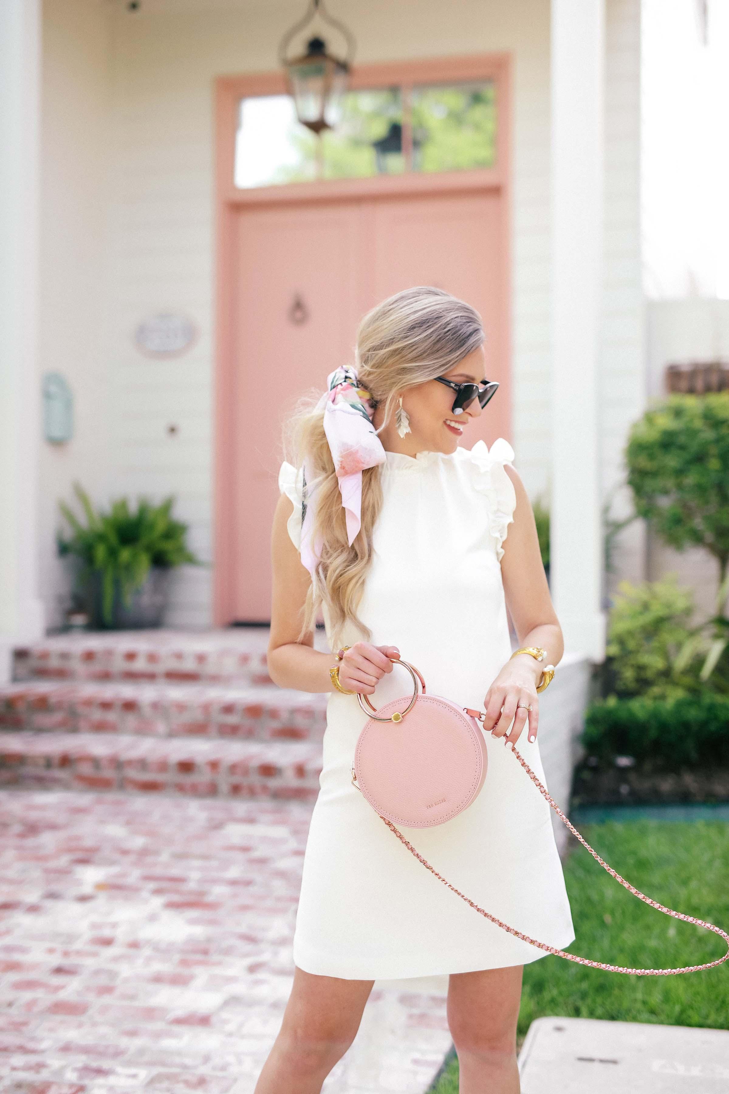 c49ea78228f2 ... Little White Dress for Summer | Ted Baker White Ruffle Dress