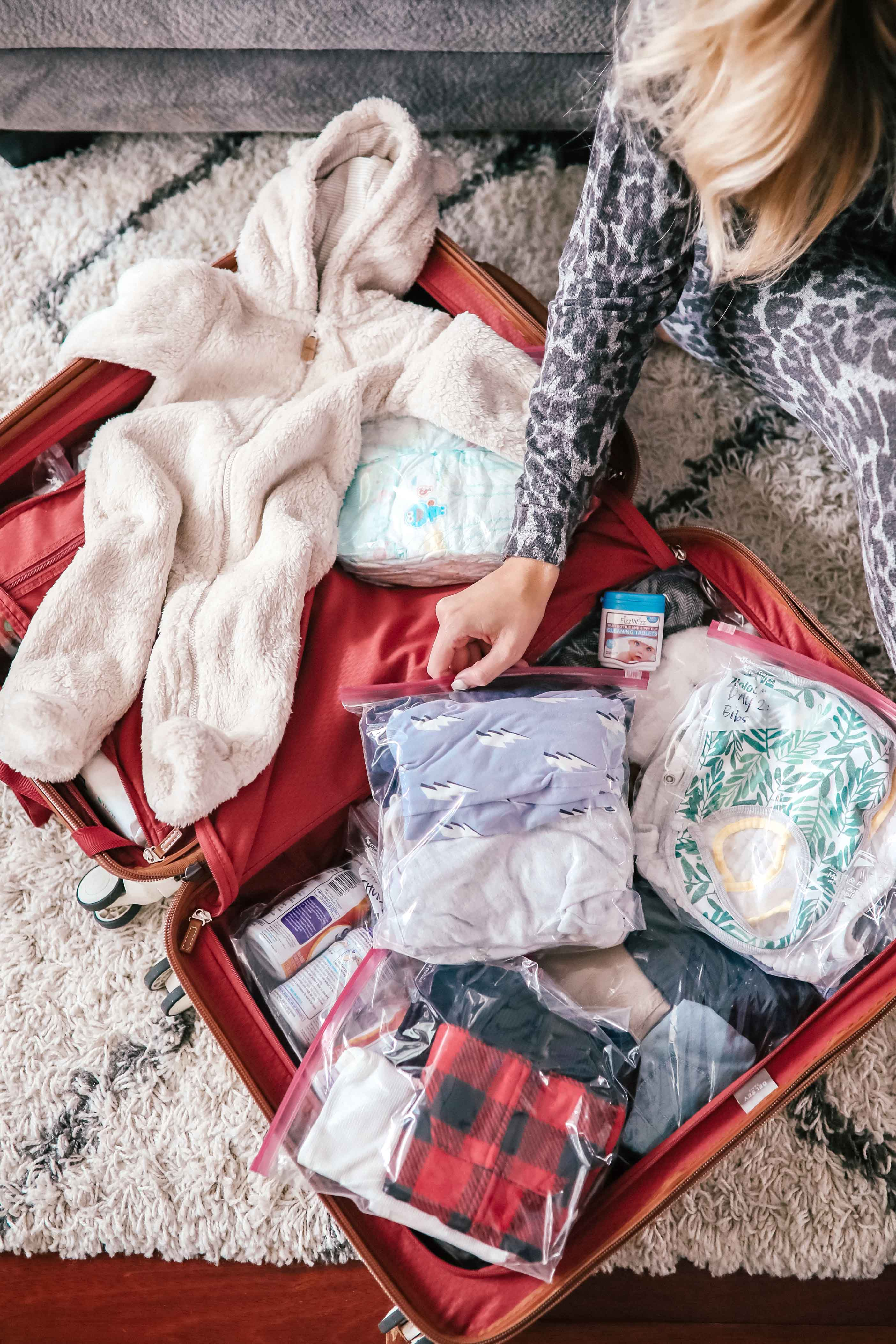 Tips For Flying With An Infant + Packing List