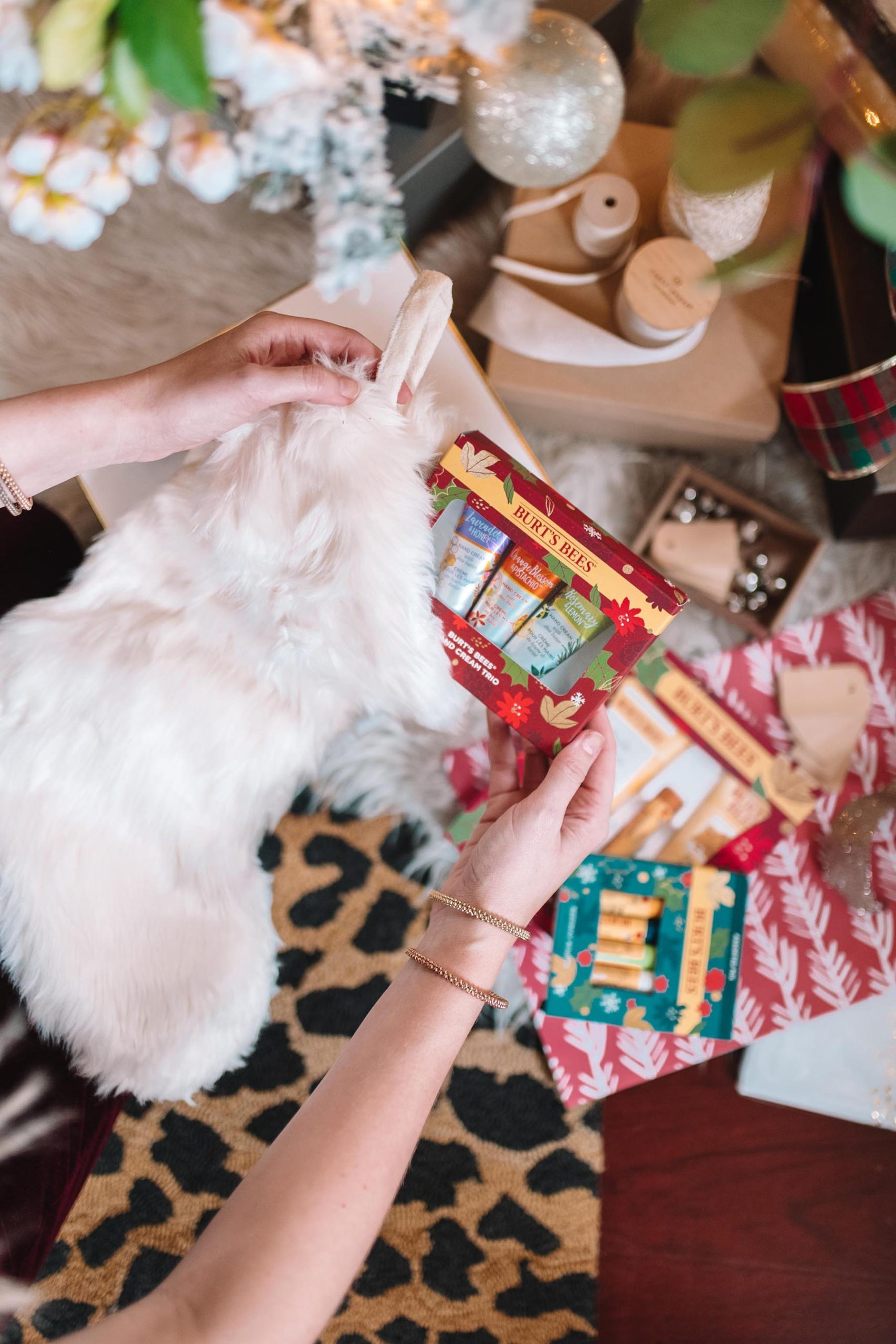 Holiday Sets Under $15 by Burt's Bees from Walmart