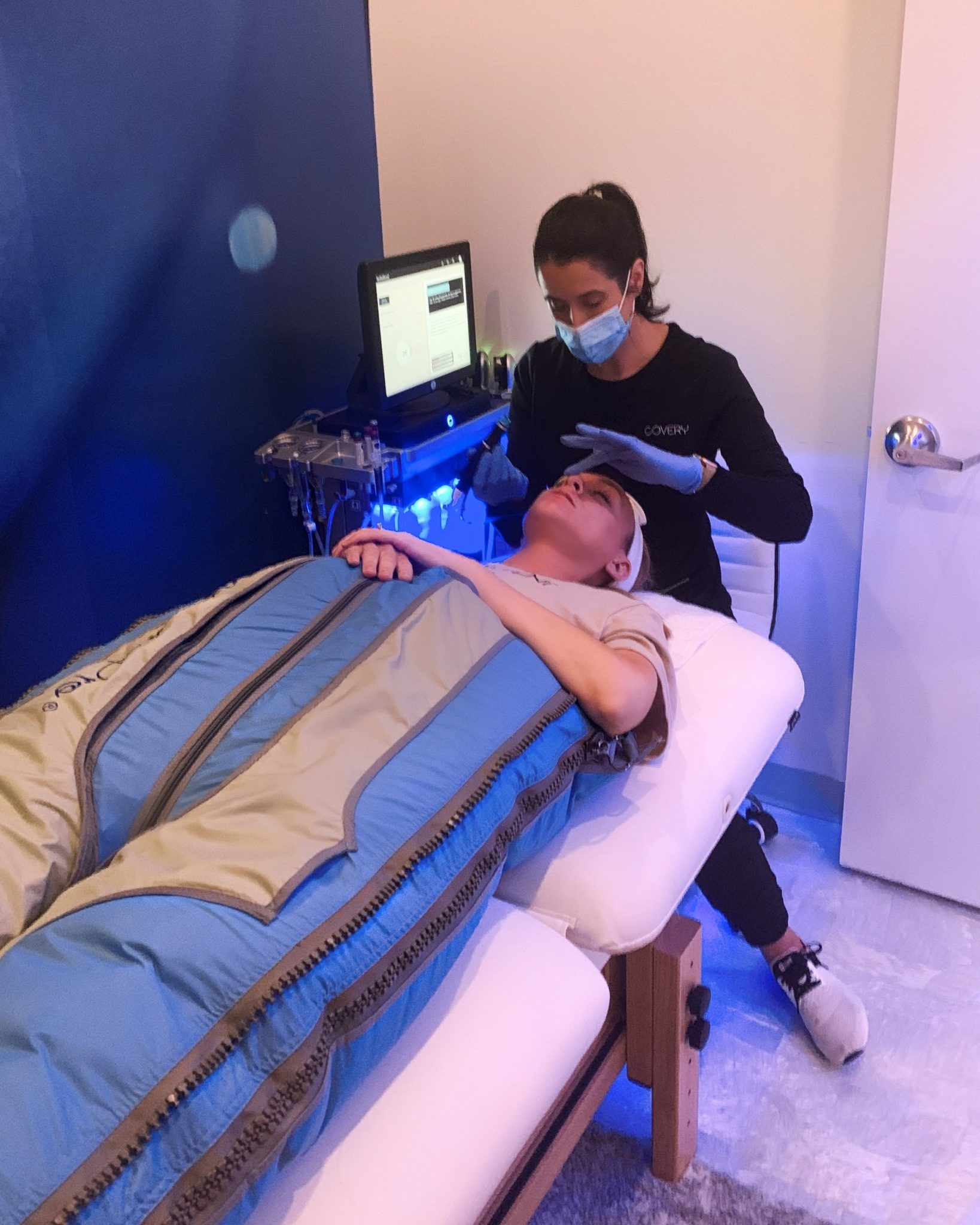 BallancerPro for compression therapy and lymphatic drainage